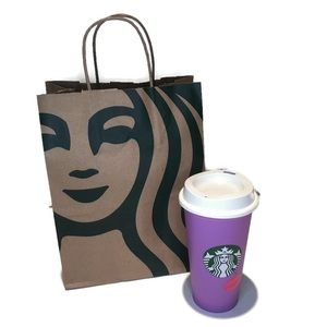 NWT Starbucks Valentines Day colour changing cup